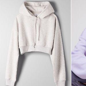 Tna super crop hoodie Sm